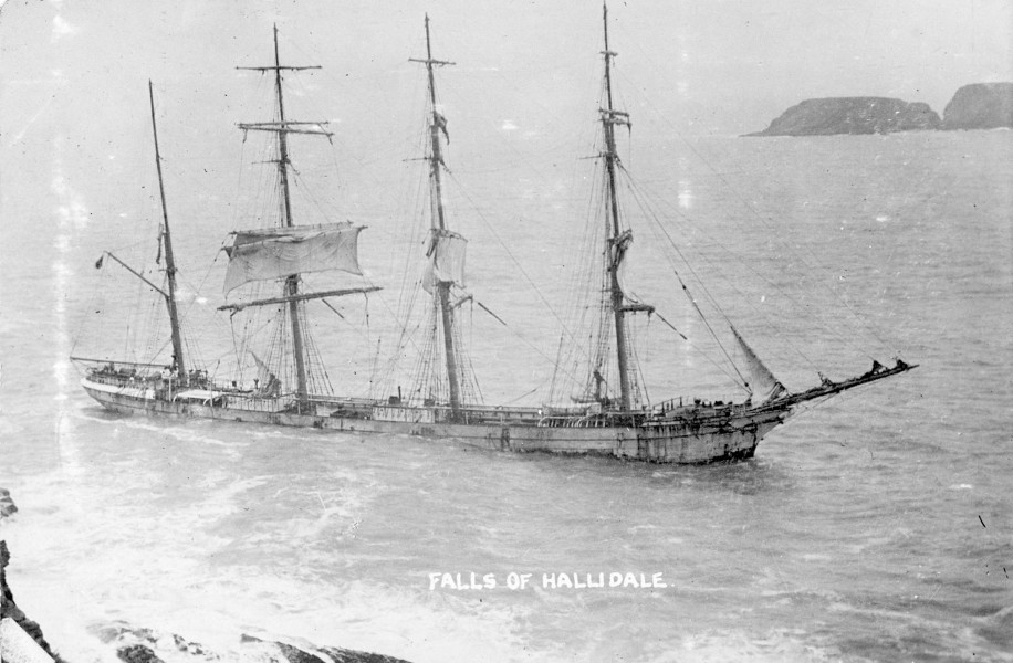 Falls of Halladale (ship, 1886) - SLV H99.220-3409