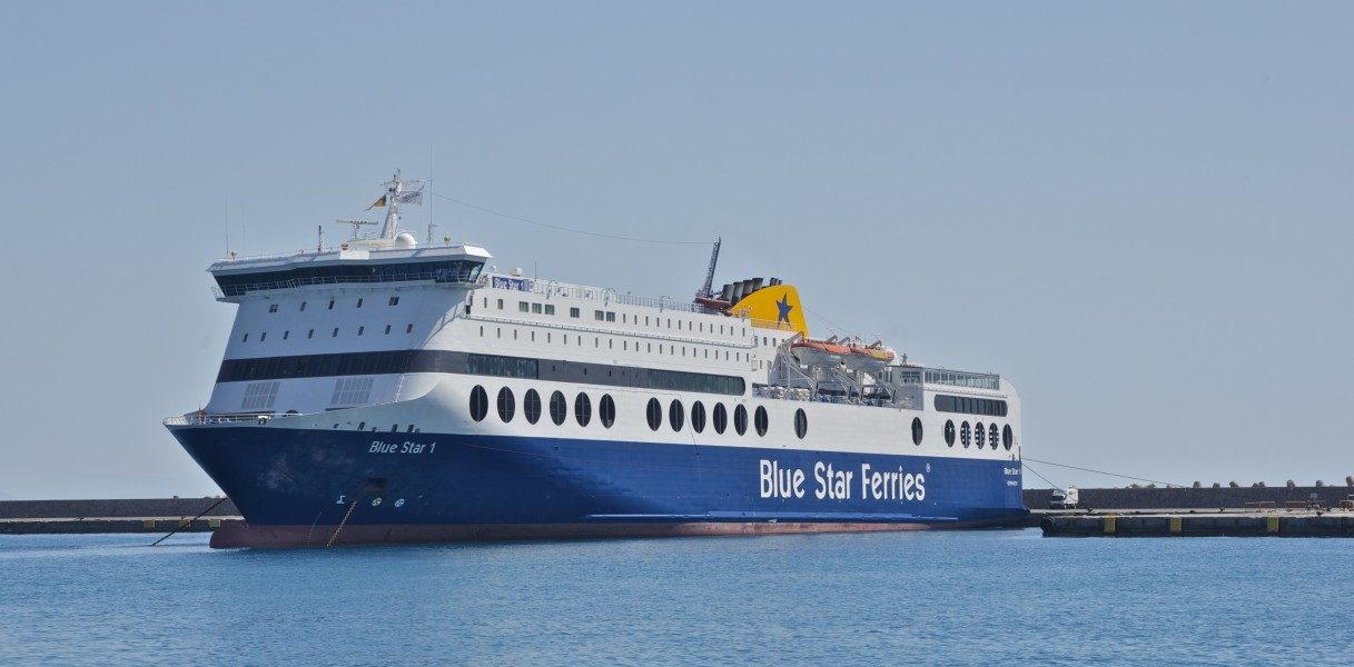 Ferry Blue star 1 Rhodes