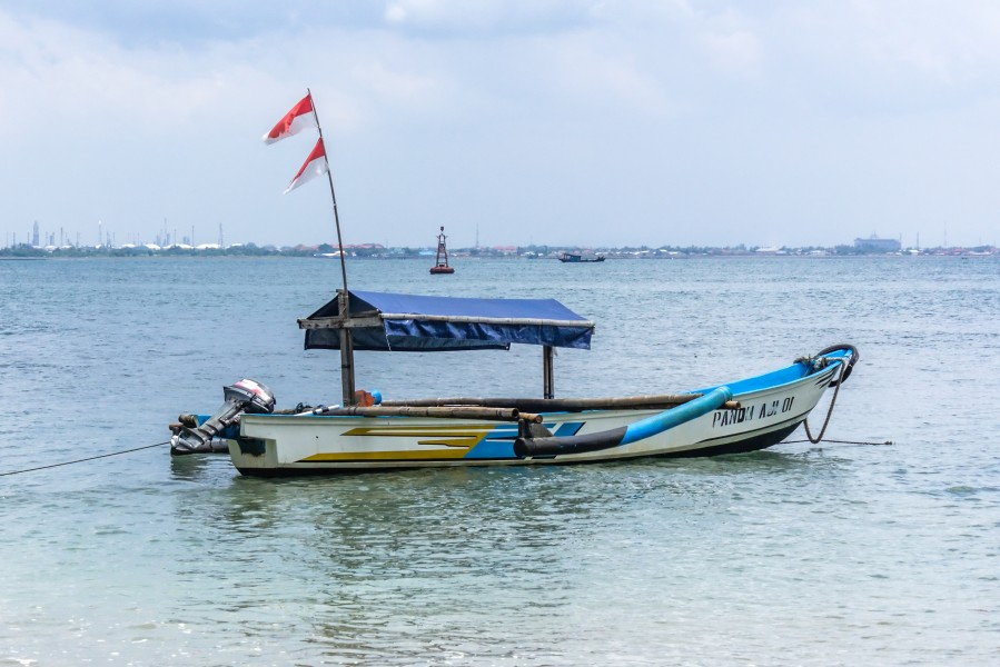 Fishing boat, Karang Bolong Beach, Cilacap 2015-03-21