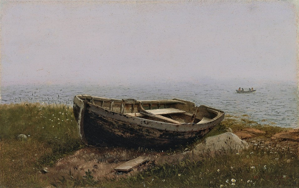 Frederic Edwin Church, Abandoned boat
