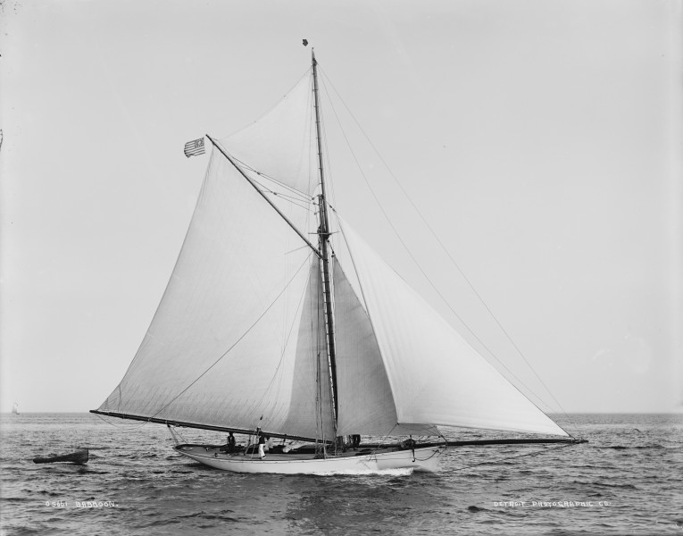George A. Goddard's forty-foot sloop Babboon