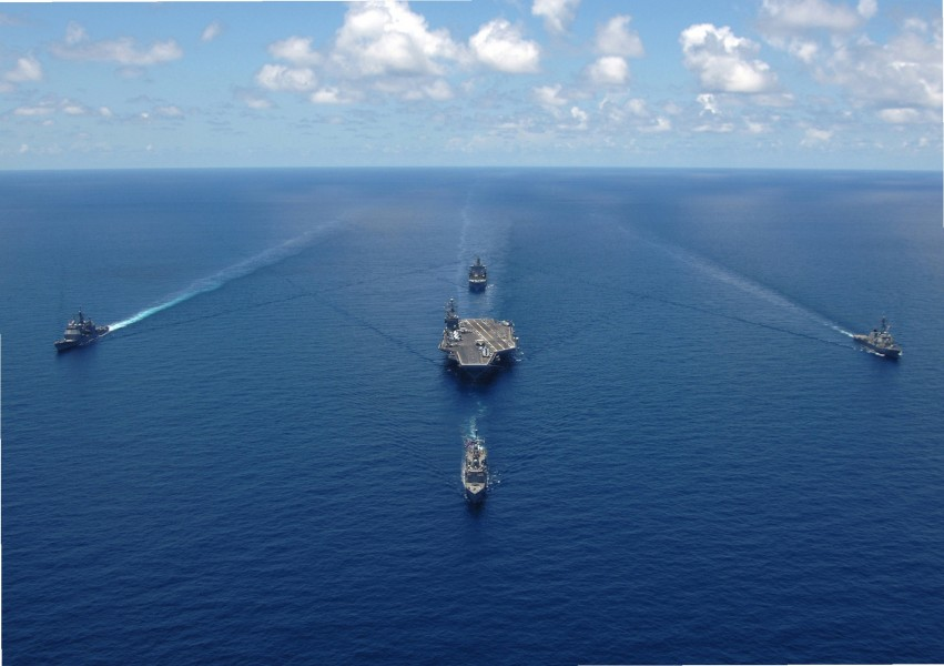 George Washington Carrier Strike Group notilt