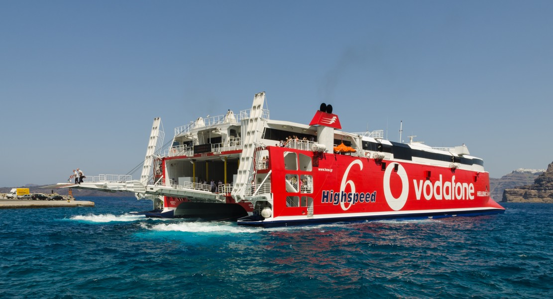 Highspeed 6 - Hellenic Seaways - Santorini - Greece - 02