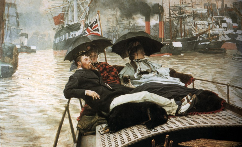 James Tissot - The Thames