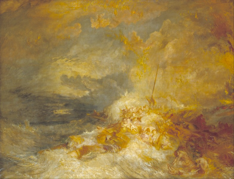 Joseph Mallord William Turner - A Disaster at Sea - Google Art Project