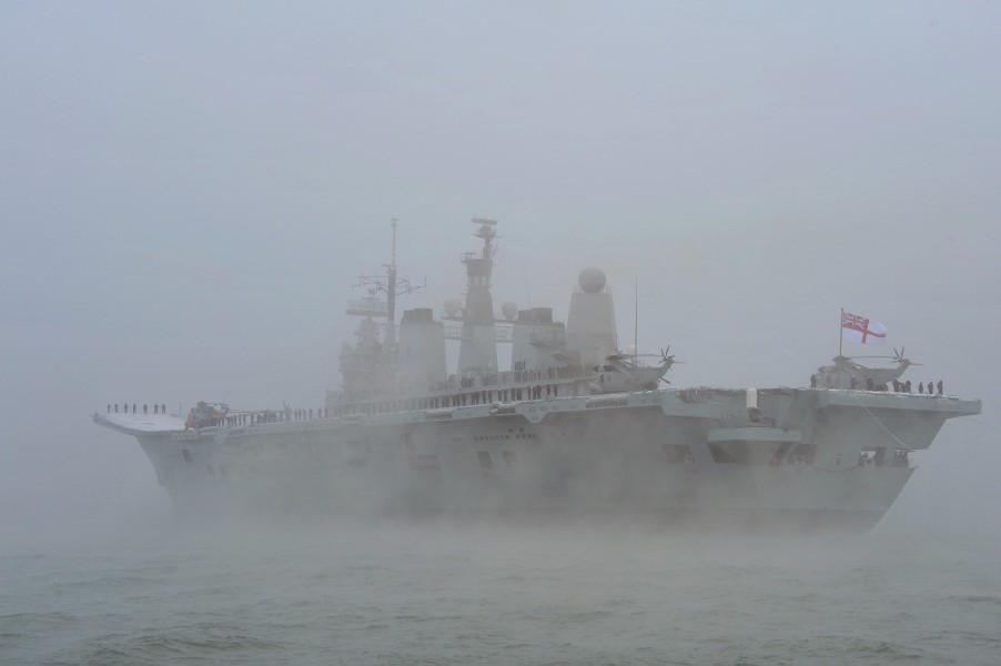 Last arrival of Ark Royal 02