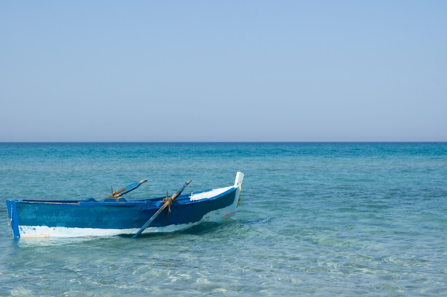 Little fishing Boat from Tunisia