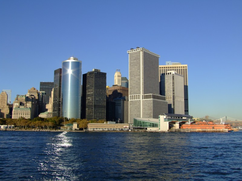 Lower Manhattan and SI Ferry Terminal