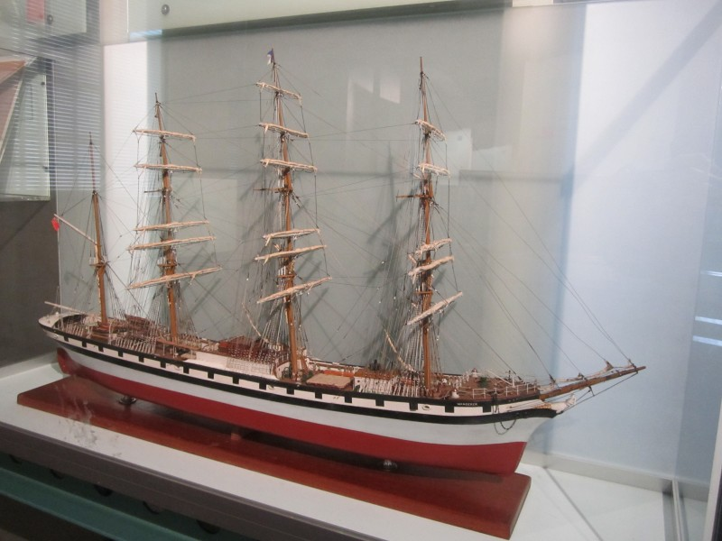 Model of Wanderer (ship, 1891), Merseyside Maritime Museum (3)