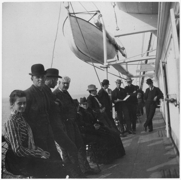 On steamer-home to Seattle. - NARA - 297182