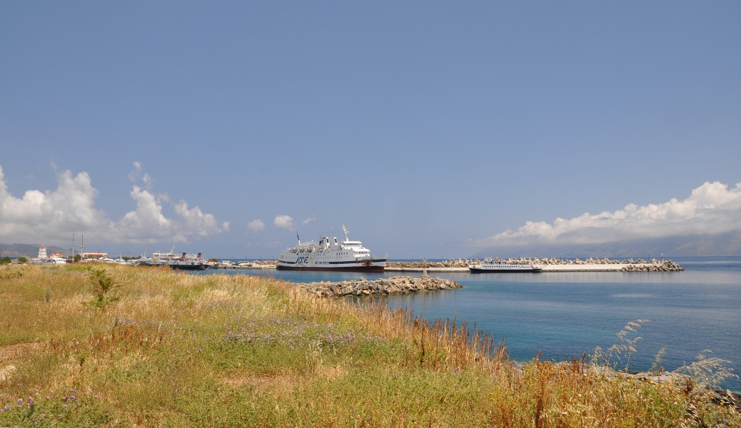 Port of Kissamos in Crete, Greece 001