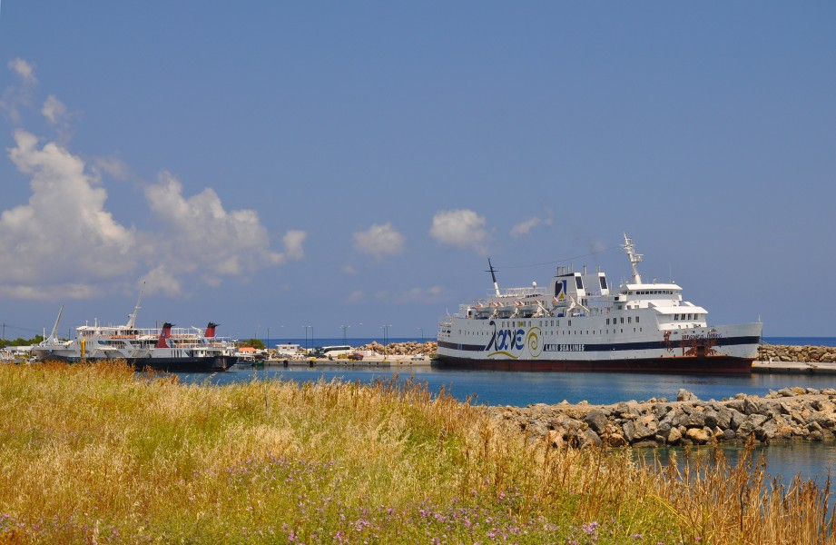 Port of Kissamos in Crete, Greece 003