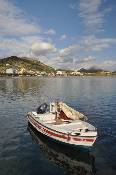 Port of Plakias in Crete, Greece 003