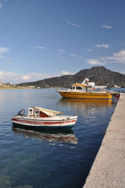 Port of Plakias in Crete, Greece 02