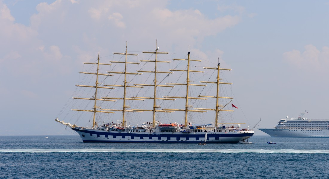 Royal Clipper of Star Clippers - Campania - Italy - July 12th 2013