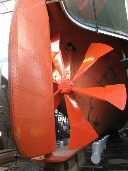 S.S.Great Britain-propeller and rudder