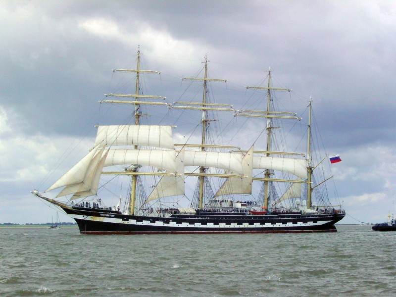 Sailing ship Kruzenshtern