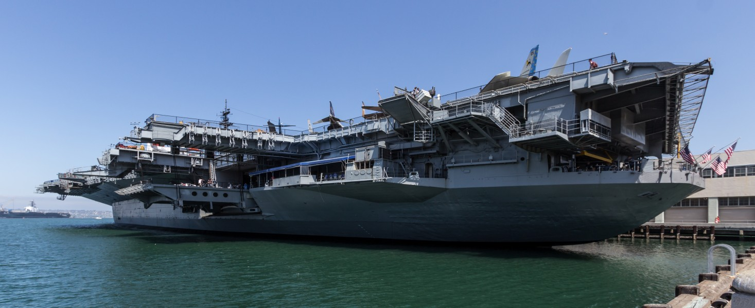 San Diego (California, USA), USS Midway Museum -- 2012 -- 5368