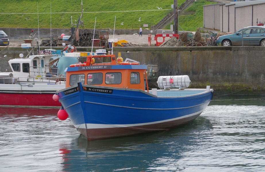 Seahouses MMB 01 Harbour and
