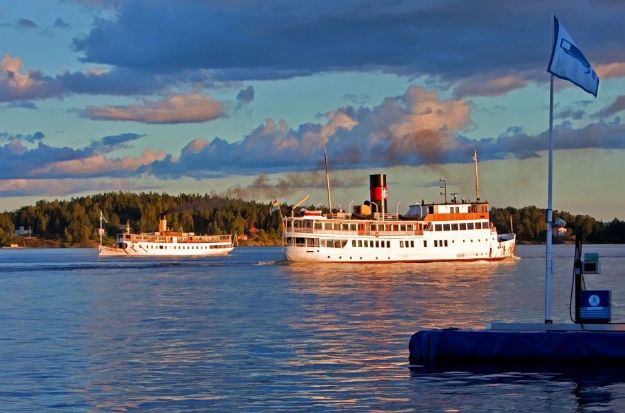 Steamships of Sweden 2012