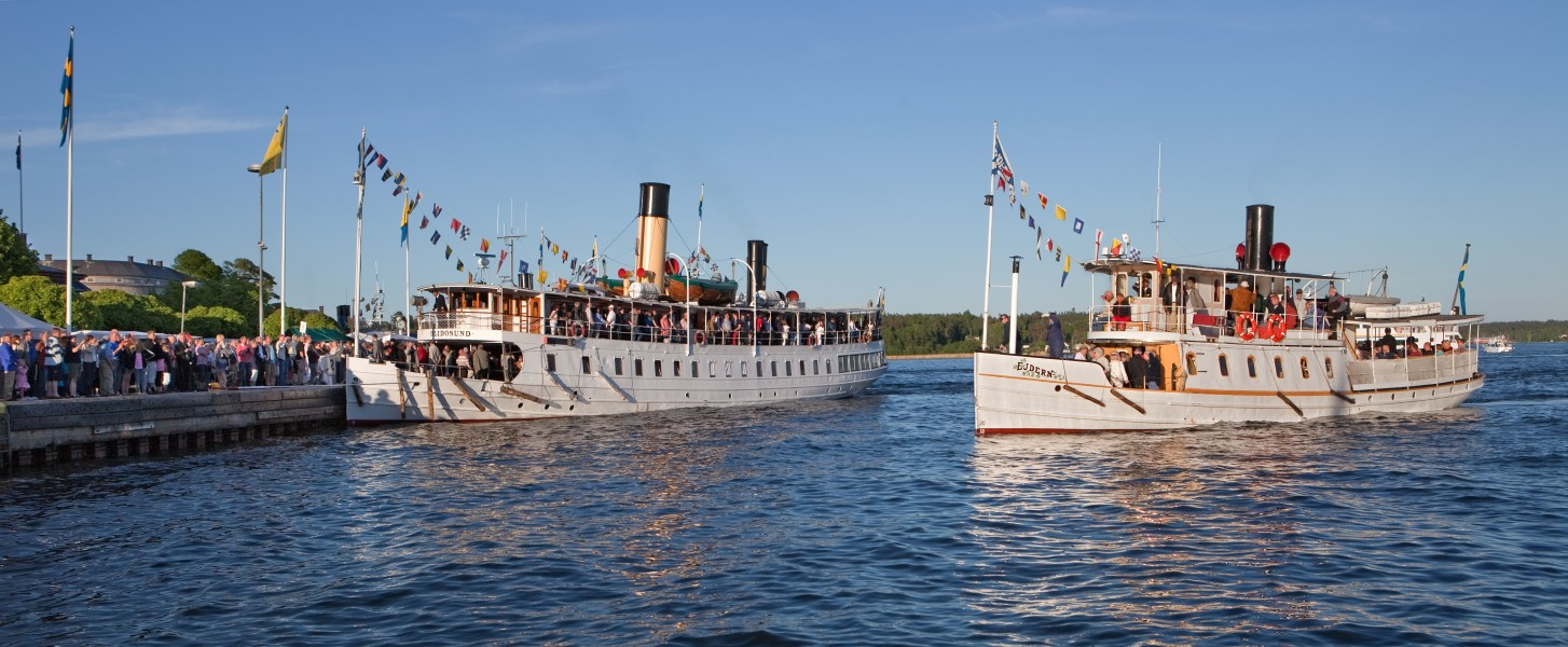 Steamships of Sweden 3 2010