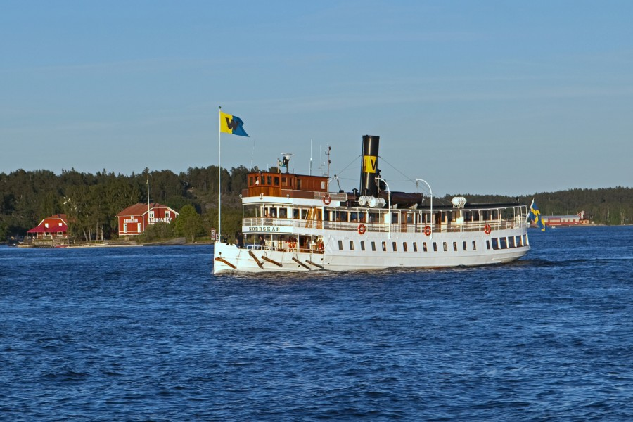 Swedish steamship Norrskär June 2012
