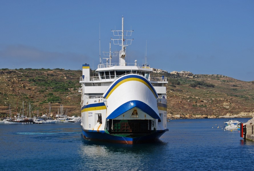 Ta' Pinu Gozo Channel Line 2009