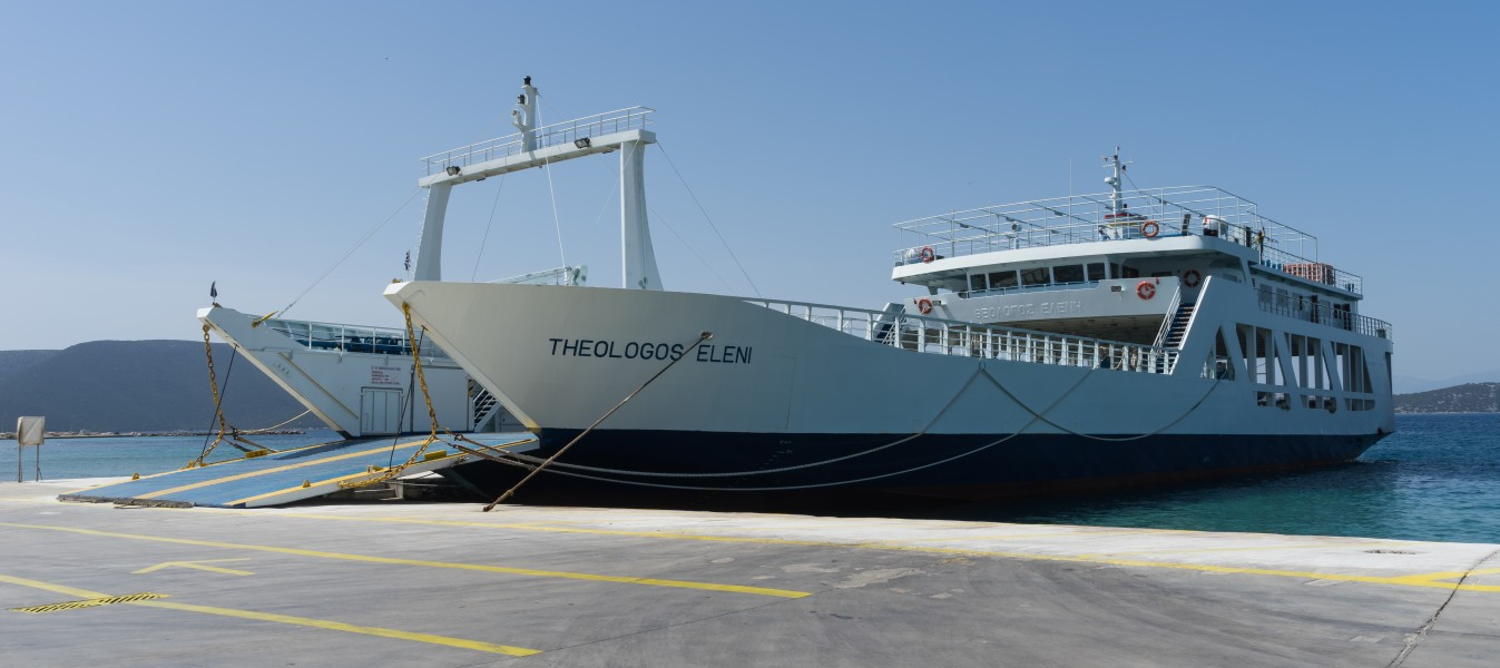 Theologos Eleni ferry Eretria Greece
