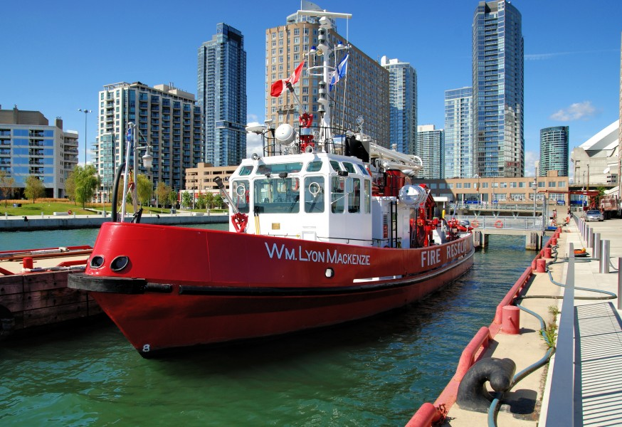 Toronto - ON - William Lyon Mackenzie Fire ship