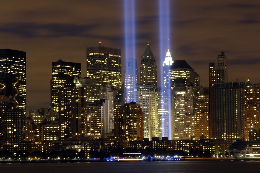 Tribute in Light (air force 2)