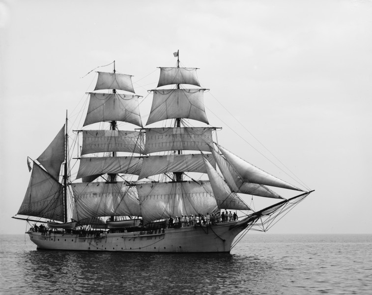 Unidentified sailing ship - LoC 4a25817u