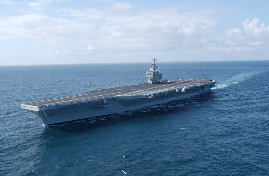 US Navy 030403-N-4768W-062 USS John C. Stennis (CVN 74) underway off the coast of southern California