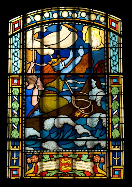 Window chapel notre dame de la grace