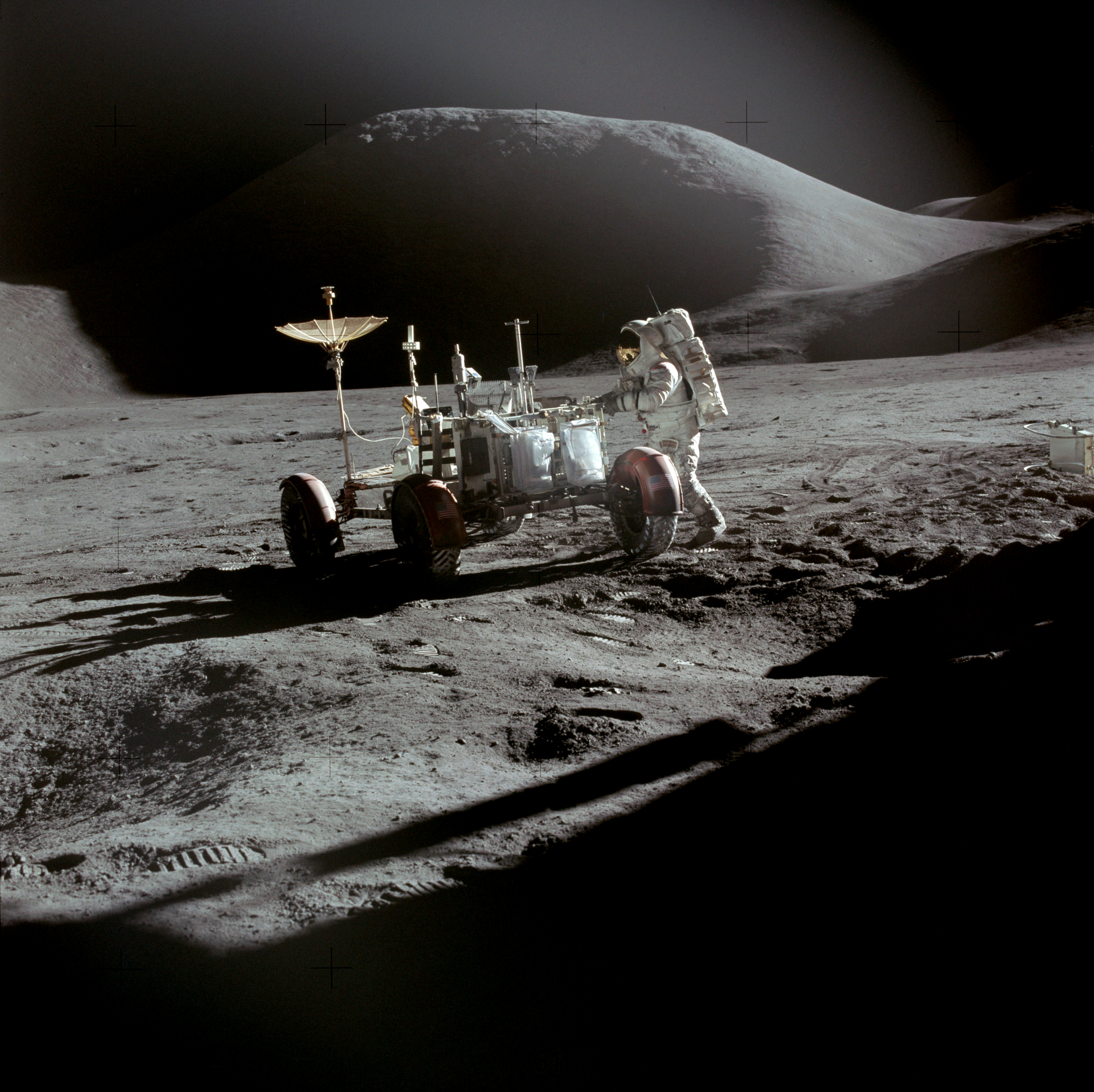 Apollo 15 Rover, Irwin