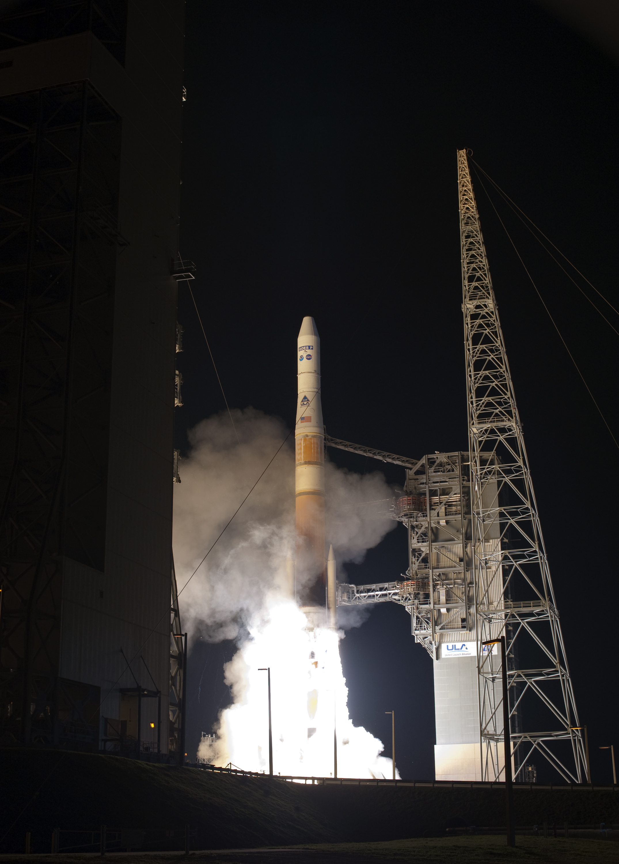 GOES-P launched by Delta IV rocket