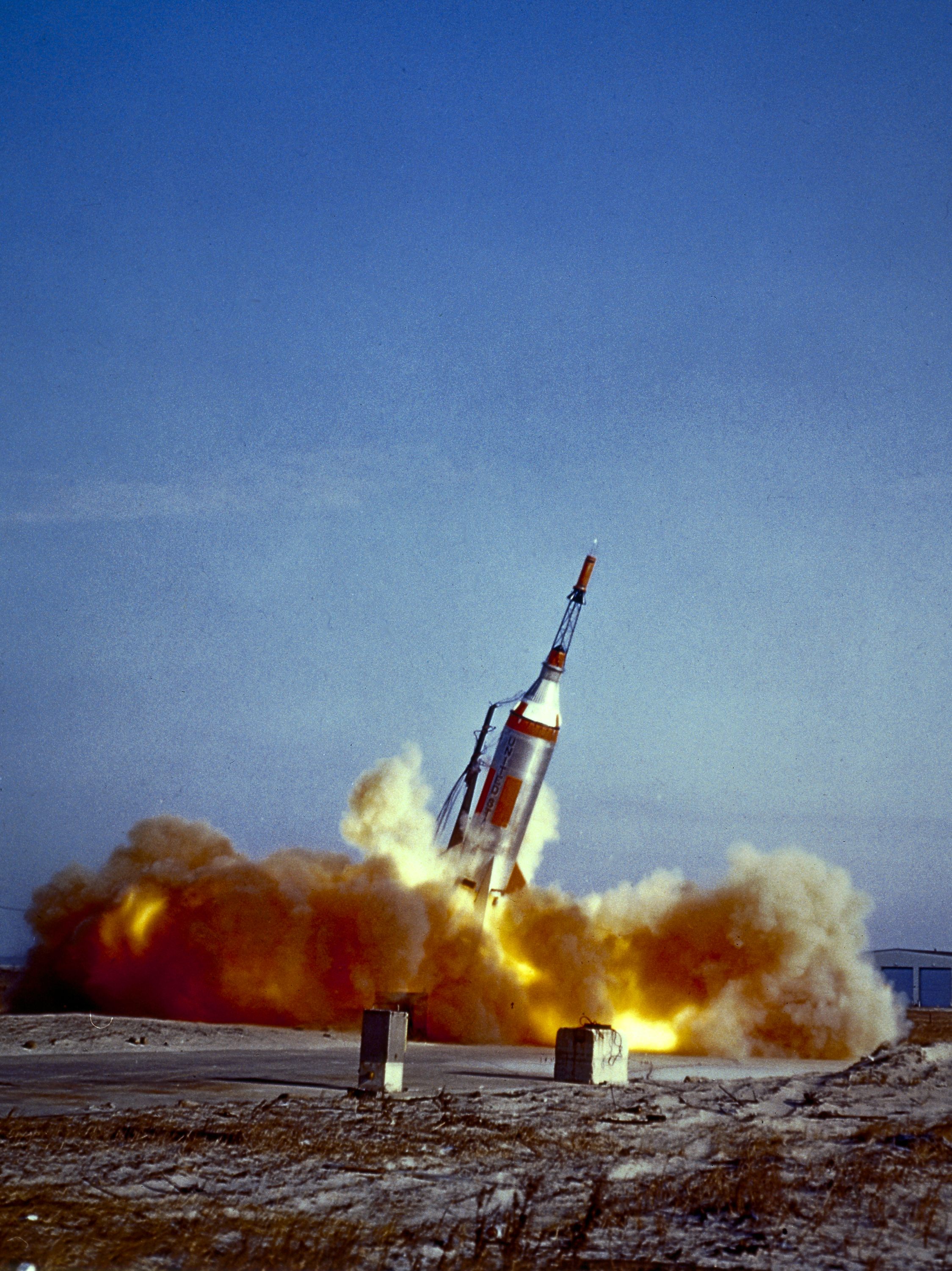 Launch of Little Joe 1B, January 21, 1960