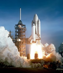 Space Shuttle Columbia launching edit
