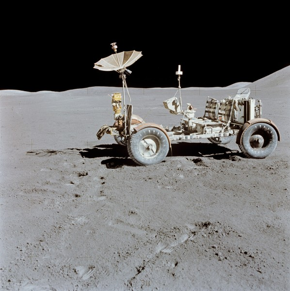 Apollo 15 Lunar Rover final resting place