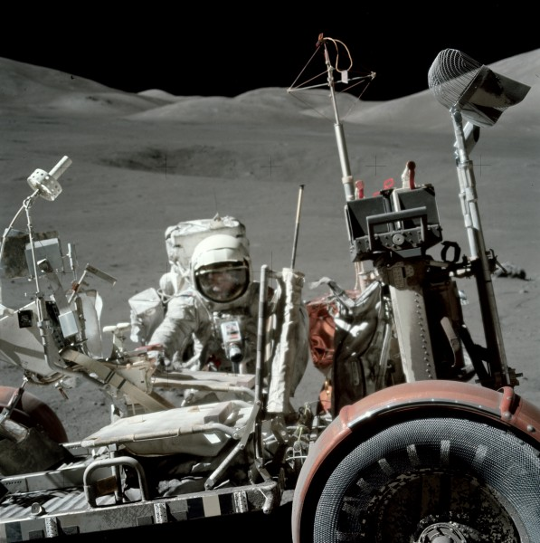 Apollo 17 lunar rover AS17-146-22296HR