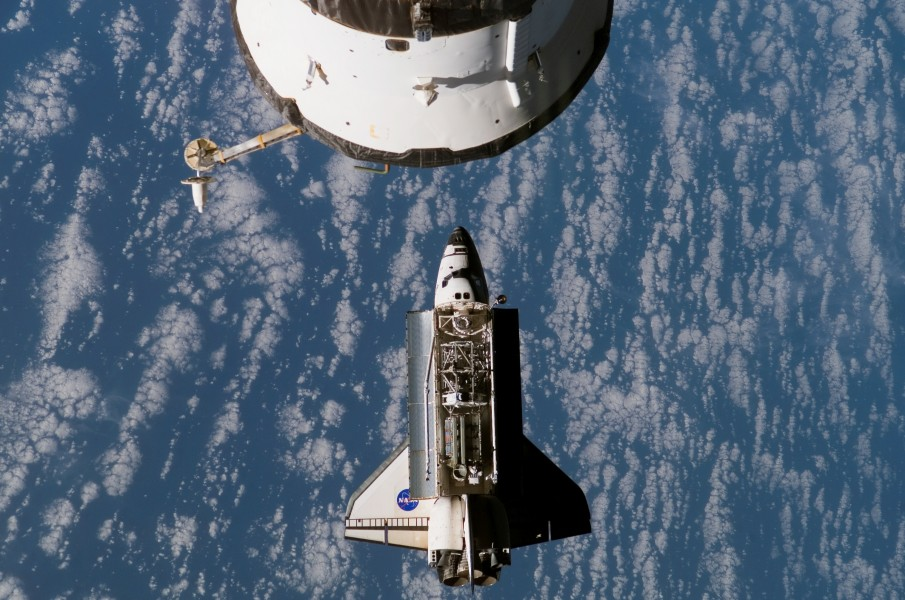 Atlantis Docking with ISS June 10 2007
