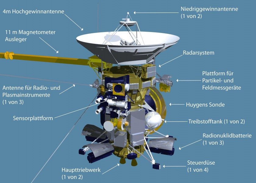 Cassini spacecraft de