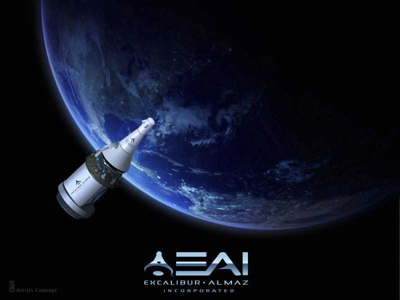 Excalibur Almaz spacecraft