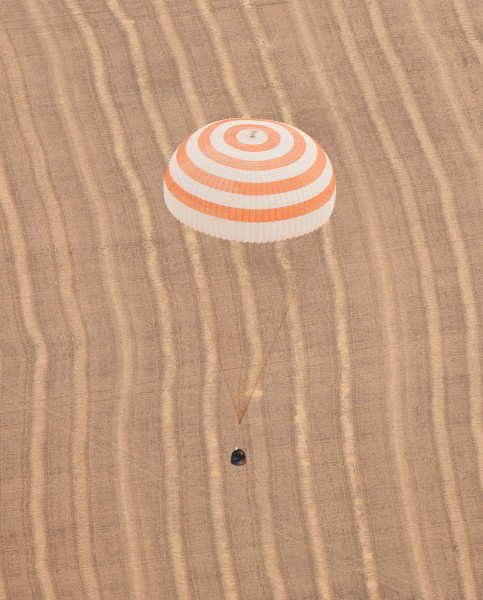 Expedition 23-24 landing