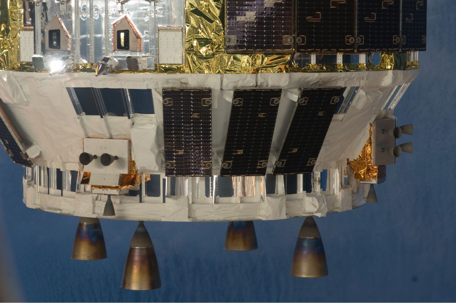 HTV-1 close-up view