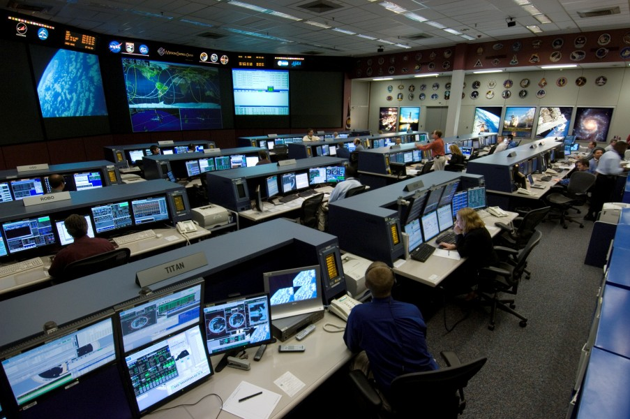 ISS Flight Control Room 2006