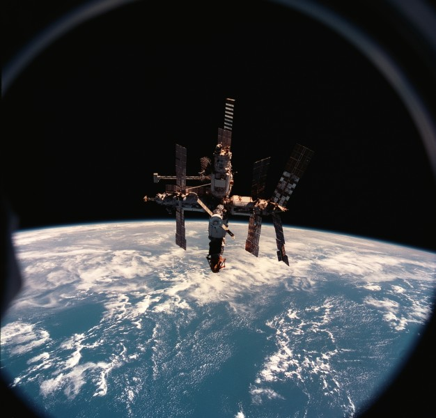 Mir space station 12 June 1998