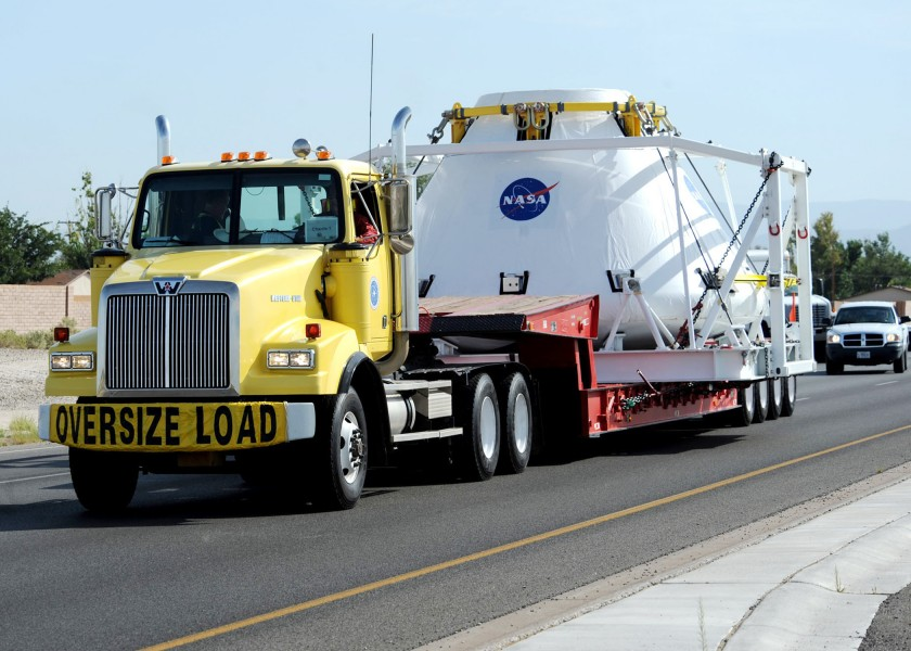 NASA Next-gen spacecraft being transporter
