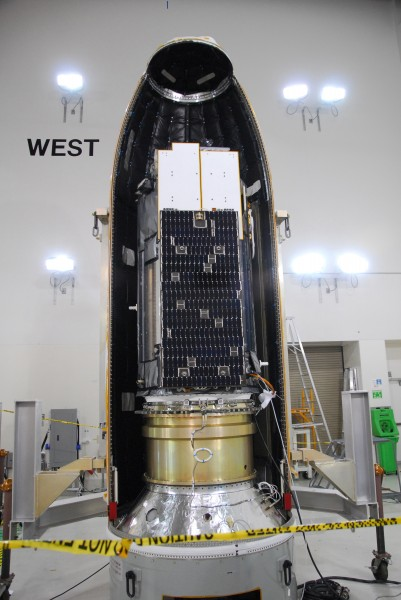 OCO in the first half of the payload fairing