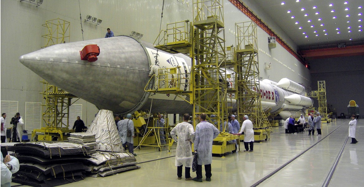 Proton-M Being Readied for Rollout, January 2005