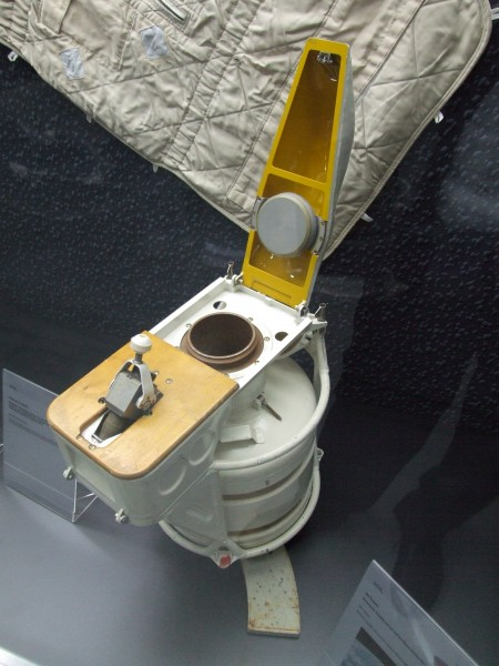 Russian space toilet